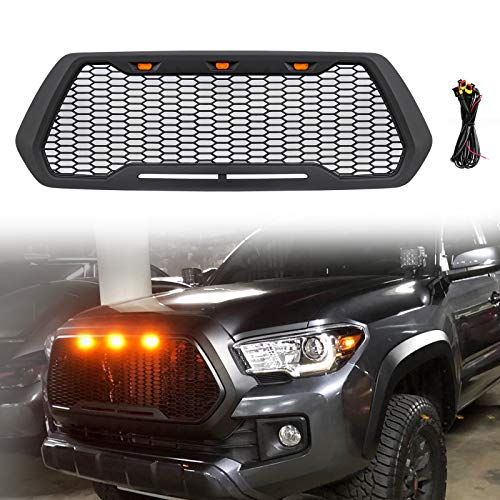 2019 Including SR 2018 TRD Sport Limited 2017 SR5 Front Grill Compatible with Tacoma TRD PRO Grille 2016 TRD Off-Road