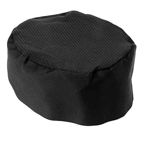 IROCH, chef da cappello in rete traspirante, con parte superiore in maglia, nero