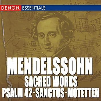 Mendelssohn: Sacred Works