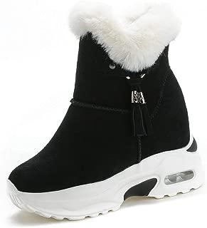 wells faux fur trim high top sneaker