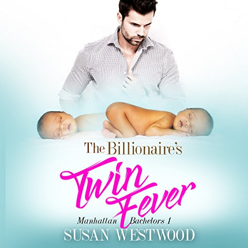 The Billionaire's Twin Fever audiobook cover art