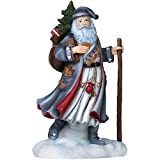 "Pipka, Christmas Gifts, ""Springerle Santa"", Limited Edition Resin Sculpture, #7151202"