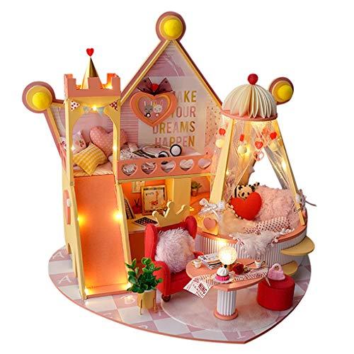 Perfeclan Mini Kit de casa de muñecas con Movimiento Musical para niños de 8 años de Edad