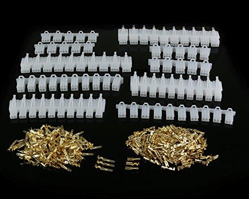 380 STÜCKE 2,8mm Pitch 2 3 4 6 Pin Männlich Weiblich Stecker Gehäuse Pin Header Crimp-draht-anschlussstecker Sortiment Kit