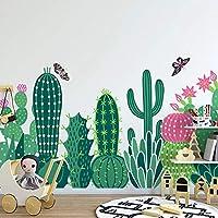 写真の壁紙3D手描きの庭のサボテン子供の寝室の写真壁壁画家の装飾3D壁画, 350cm×245cm