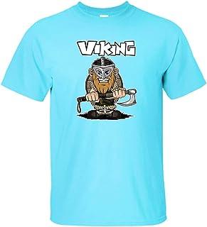 Ragnar Lothbrok Camiseta Vikingos Tops Nórdico Mitología Camisetas Cómic Estilo Camiseta Unisexo Anime Impresión Camiseta ...