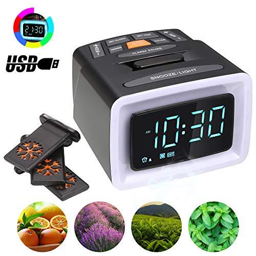 Mesqool Digital Projection Alarm Clock