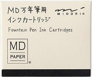 ミドリ 万年筆 MD万年筆用 カートリッジ 黒 38080006