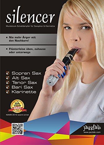 Jazzlab Silencer MK2 Universal - für Klarinette und Saxophone