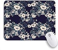 KAPANOUマウスパッド グリーンガーデン抽象的な花カラフルなヴィンテージ春のパターン美しい美しさレトロな花 ゲーミング オフィ良い 滑り止めゴム底 ゲーミングなど適用 マウス 用ノートブックコンピュータ