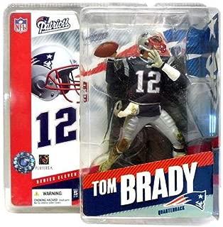 McFarlane NFL Series 11 Figure: Tom Brady New England Patriots Navy Jersey Six Inch Action Figure