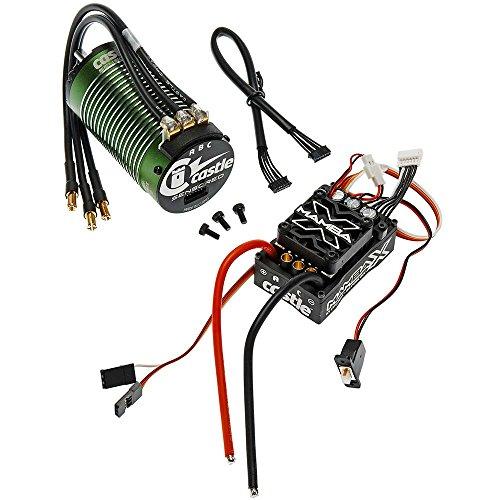 Castle Creations 010-0155-05 Mamba X 25.2V Waterproof ESC & 1515-2200 Kv Sensored Motor, E-Buggy Combo