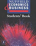 Nuffield Economics and Business Studies Student's Book