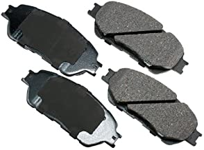 Akebono ACT906A Proact Ultra Premium Ceramic Disc Brake Pad kit