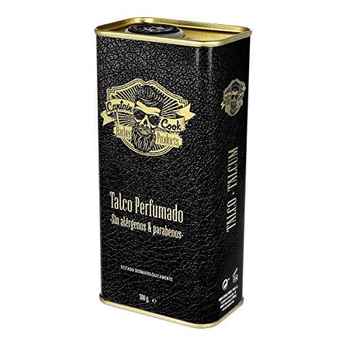Captain Cook, Talco Perfumado sin Alérgenos & Parabenos -300ml