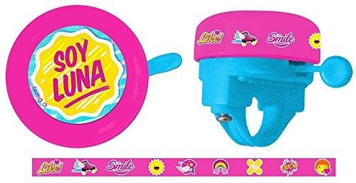 Campanello Ring Ring ragazza bambini Soy Luna a manubrio di bicicletta 356916175