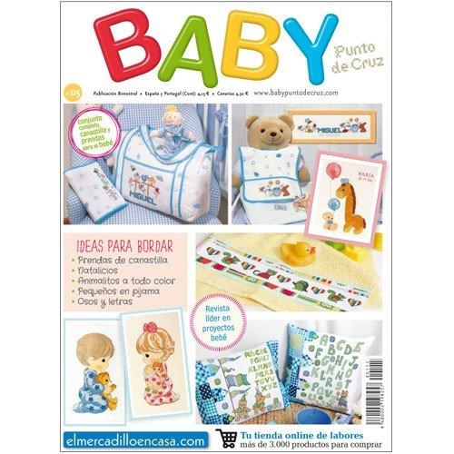 BABY Nº 115 - Revista de punto de Cruz