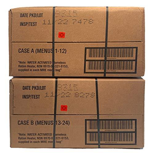 MRE (Meals-Ready-To-Eat) Case-Inspection 11/2022 or Better-ACM MRE Case (Case A & B Combo)