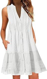 817df39240f2 Amazon.es: Blanco - Vestidos / Mujer: Ropa