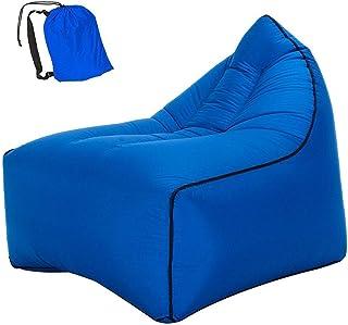 BHDYHM Silla inflable de la cama del aire de la cama durmiente de la silla de