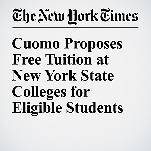 Cuomo Proposes Free Tuition at New York State Colleges for Eligible Students copertina