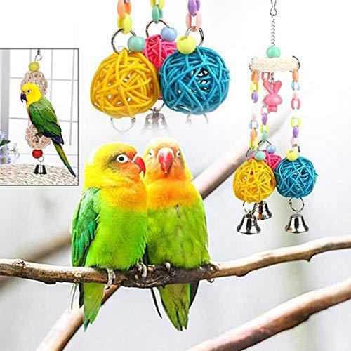 SVY Bird toy huisdier papegaai speelgoed vogel ladder papegaai schommel papegaai papegaai hamster speelgoed