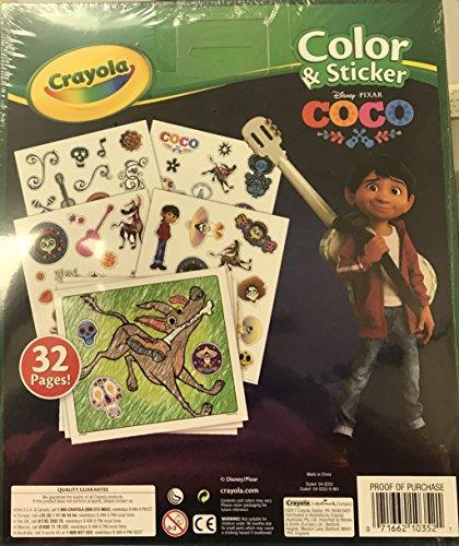 Crayola Color and Sticker Coco