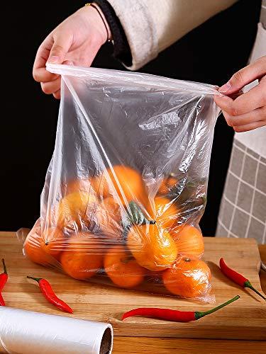 Home Point gebrochen frische Tasche verdickt große und kleine Rolltasche Handtasche Mikrowelle Herd Kühlschrank spezielle Lebensmitteltasche große 30 x 40cm 50 Pack