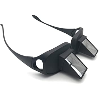 vinmax Bed Prism Spectacles Horizontal Lazy Glasses for Reading and Watching TV Unisex -Perfect Gift