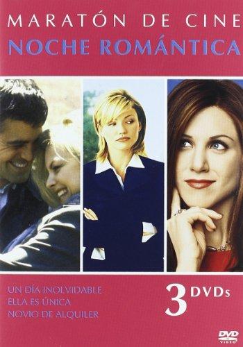 Maraton De Cine - Noche Romantica 1:Un Dia Inolvidable/ Ella Es Unica/ Novio De Alquiler - Tri [DVD]
