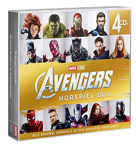 The Avengers Hörspiel-Box