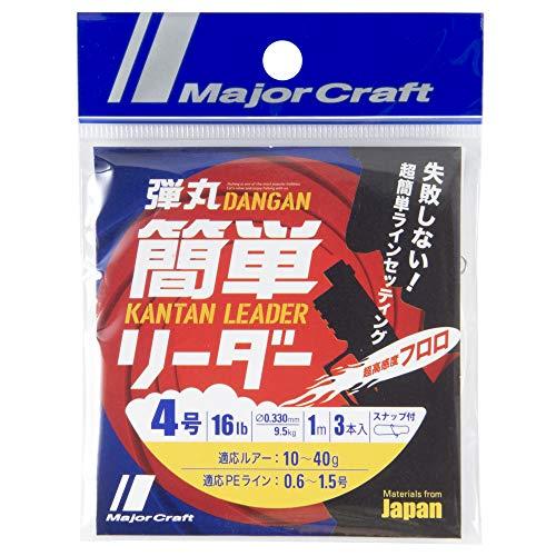 メジャークラフト ライン 弾丸簡単リーダー DLK-4
