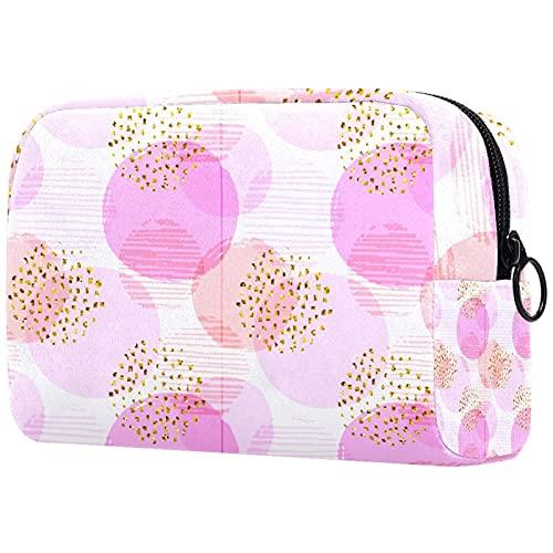 Bolsa para Cosméticos diseño de niña bebé Bolsas de Maquillaje de Viaje Portátil Neceser de Maquillajepara para Mujeres niñas 18.5x7.5x13cm