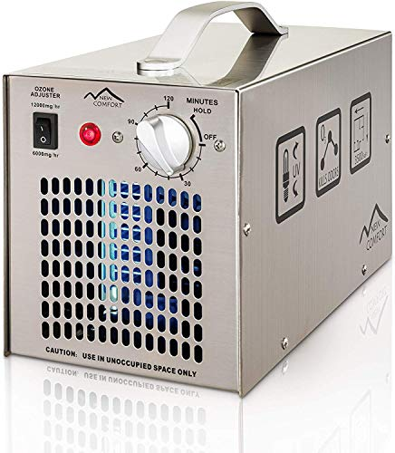Stainless Steel Commercial Ozone Generator UV Air...