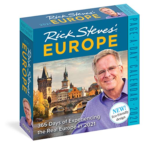 Rick Steves' Europe Page-A-Day Calendar 2021
