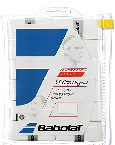 Babolat VS Grip Original 12er weiß Overgrip, One Size