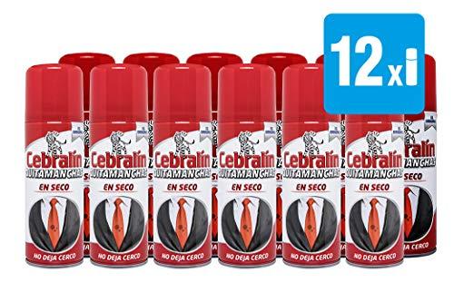 Cebralín - Quitamanchas Expert en Seco, Pack 12x200 ml - Total: 2.400 ml