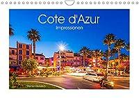 COTE D'AZUR Impressionen (Wandkalender 2022 DIN A4 quer): Die Cote d'Azur oder auch Franzoesische Riviera in 13 faszinierenden Aufnahmen. (Monatskalender, 14 Seiten )