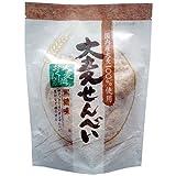 大麦せんべい 黒糖味 25g×12袋