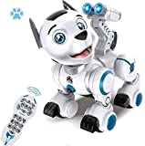 WomToy Remote Control Robotic Dog, RC Robot Dog Electronic Pets Interactive Intelligent Walk