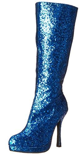 Ellie Shoes Damen 421-zara, Blau (blau glitzernd), 42 EU