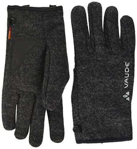 VAUDE Rhonen Gants IV Unisex Mixte Adulte, Phantom Black, FR : 2XL (Taille Fabricant : 11)