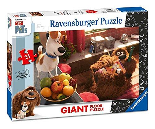 Ravensburger 05483 – Secrets des Animaux – 24 pièces Puzzle de Sol pour Les Enfants
