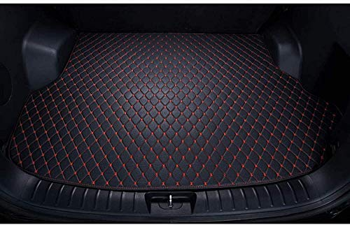 BNGS Car Trunk Mat,for Nissan March 2010-2018 Car Trunk Mat Boot Luggage Pad Carpet Flat Side Cargo Liner