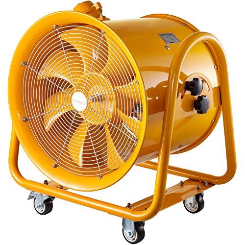 Mophorn Ventilador Axial de Grado ATEX Ventilador Industrial Extractor Diámetro de 50 cm Extractor de Ventilación Ventilador de Escape