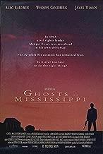 GHOSTS OF MISSISSIPPI (1996) Original Movie Poster 27x40 - DS - Alec Baldwin - James Woods - Virginia Madsen - Whoopi Goldberg