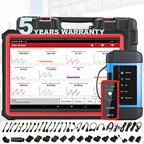 [2021 New]LAUNCH X431 PRO3S+HDIII,Diesel&Gasoline Bidirectional Diagnostic Scan Tool,Cars&Heavy Duty Trucks All Systems Scanner,Key Program,ECU Coding,31+Service,Cars&Trucks Connector Kits