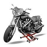 Quad Bühne, Motorrad Heber ATV Montagebock hydraulisch für z. B. Adly/Herchee ATV Canyon Polaris...