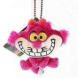 cgzlnl Alice in Wonderland Cute Cheshire Cat Peluche Ripiene, Anime Peluche Ciondolo Cartoon Cheshire Cat Giocattoli per Bambini 9 Cm