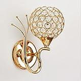 Cristal lámpara de pared Sencillo Creativo Iluminación de pared...